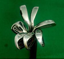 Set Of 7 x King Cobra S9 Irons 5-SW Regular Steel Shafts Stardom Grips