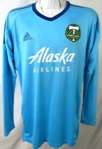Portland Timbers Mens Sizes 8 10 12 Adidas Adizero Goalkeeper Jersey PTI 8