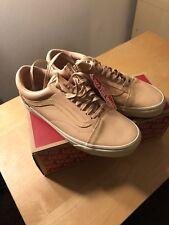 3fefe86e4f Vans Old Skool DX Veggie Tan Leather Brand New Size 9.5
