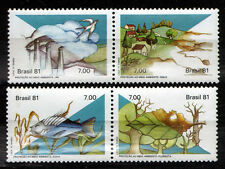Brazil 1981 Mi 1829-1832 Nature - MNH