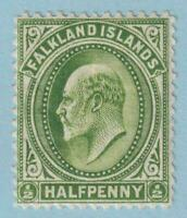 FALKLAND ISLANDS 22  MINT HINGED OG * NO FAULTS VERY FINE !