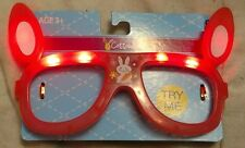 Cottondale Pink Easter Bunny Ears Flashing Glasses Frames with Rabbit Image