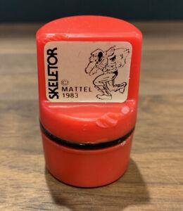 """He-Man / Masters of the Universe """"Skeletor"""" Vintage 1983 Mattel Rubber Stamp"""