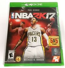 NBA 2K17 for Microsoft Xbox One XB1 X1 *BRAND NEW AND SEALED*