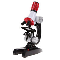 Beginner Microscope Kit C2121 Science Educational Toy Kids School Lab Tool