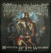 "CRADLE OF FILTH PATCH / AUFNÄHER # 17 ""HAMMER OF THE WITCHES"""
