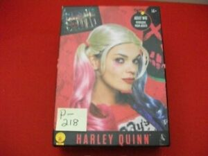 COSPLAY SUICIDE SQUAD HARLEY QUINN ADULT WIG DELUXE QUALITY 100% WASHABLE NISB