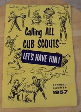 "VTG 1957 BSA Catalog~""CALLING ALL CUB SCOUTS""~Great Content~"