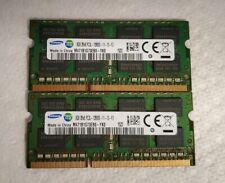 SAMSUNG PC3L-12800S (8GBx2 )SO-DIMM DDR3 Memory 16GB Total LAPTOP MEMORY AA12