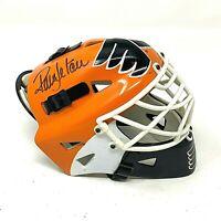 Ron Hextall Signed Autographed Riddell Goalie Mini-Helmet Philadelphia Flyers