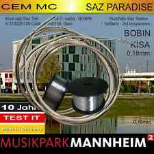 Musikpark Mannheim Cem MC SAZ teli KISASAP prof tel 7Saiten für Kurzhals Baglama