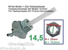 Unterdruck Benzinpumpe für Chinaroller China Roller 14,5 Grobgewinde Benzinhahn