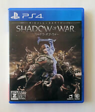 MIDDLE EARTH SHADOW OF WAR [ WB Games ] PS4 Sony Playstation 4