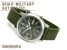 f282296f3862a3 Montre SEIKO 5 Mécanique Automatique Militaire SNK805K2