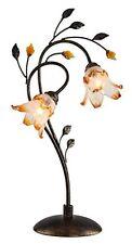 OK Lighting 30 In. Bronze Windance Floral Table Lamp Ok-9143-t1