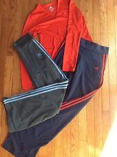 Women's Adidas Pants( Medium) and Long Sleeve Shirt (Small)