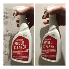 Powerful Mould Spray Remover Stain Cleaner - Walls Tiles Treatment Kills Mildew