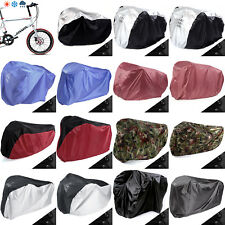 Single Double Triple Bicycle Bike Cycle Rain Dust Outdoor Cover Waterproof UK
