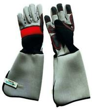 Hanson's Garden Men's Padded Long Sleeve Gauntlet Gardening Gloves Xtra Protect