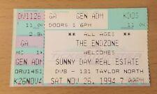 1994 Sunny Day Real Estate Seattle Concert Ticket Stub Foo Fighters Nate Mendel