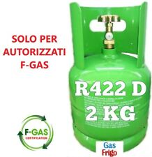 R422D GAS REFRIGERANTE KG 2 BOMBOLA RICARICABILE - GAS SOSTITUTO R22
