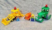 LEGO DUPLO Bob the Builder Bundle - Scoop, Roley, Dizzy & Bob & Wendy Figures
