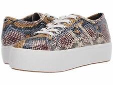 "Steve Madden Emmi Low 2"" Platform Sneaker women shoes pythons Snake size 10 new"