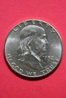 HIGH GRADE 1952 P Ben Franklin Half Dollar Exact Coin Flat Rate Shipping OCE 419