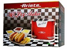 Ariete 186 Hot Dog Maker im Retrostil der 50er Jahre 650 Watt, Rot Metallic