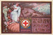 Prima guerra mondiale - Croce Rossa, comitato Alessandria / illustratore Pasini