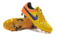 NIKE TIEMPO LEDGEND FG MEN'S 8 SOCCER CLEATS MEN'S SOCCER BOOTS WITH CLEAT BAG