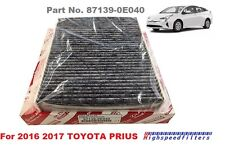 TOYOTA OEM Genuine CHARCOAL AC CABIN AIR FILTER 87139-0E040 FOR 2016 2017 PRIUS