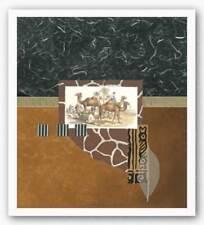 Oasis Travelers Bryan Martin Art Print 22x20