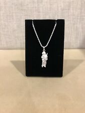Light Weighted Solid Pendant 3 Inches 925 Sterling Silver Jude St San Judas