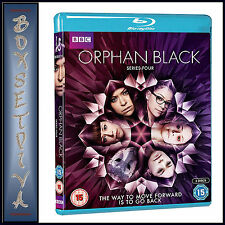 ORPHAN BLACK  - COMPLETE SERIES 4     **BRAND NEW BLU-RAY***