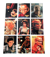 1997 Skybox Star Trek Deep Space Nine Profiles Quark's Quips Chase Card Set (9)
