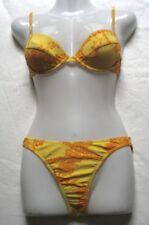 arena Mädchen Damen Bikini Lepoca Gr 36 Gelb Orange chlorbeständig 19863