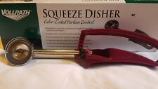 Vollrath Squeeze Disher Color-Coded Portion Control scoop72 oz., size 40 spoon