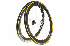Lightweight Meilenstein Obermayer Weiss Road Bike Wheel Set Tubular Shimano 11s