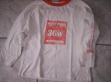 """Cooles """"DECATHLON""""-Shirt, weiß-orange mit Motiv, neuw. Gr. 98/104"""