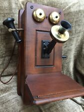 Vintage Mid Century The Country Belle By Guild Wall Telephone AM Tube Radio