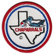 "1970'S DALLAS CHAPARRALS ABA BASKETBALL 3"" DEFUNCT TEAM PATCH"