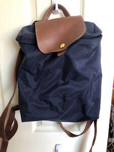 Longchamp Le Pliage Backpack Navy