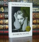 NEW SIGNED by SHARON STONE Beauty Living Twice 1st Edition Print Hardcover