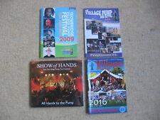 SHOW OF HANDS ALL HANDS TO THE PUMP TROWBRIDGE VILLAGE FESTIVAL 2009 2014 2016