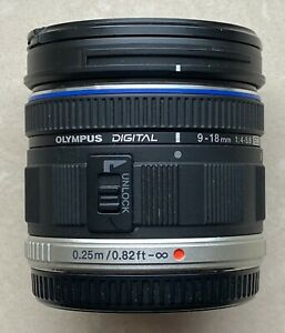 Olympus M.Zuiko Digital 9-18 mm F4.0-5.6 ED 52 mm Filtergew. (Micro Four Thirds)