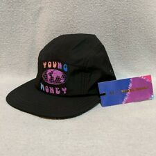 NWT AE x Young Money American Eagle Lil Wayne 5 Panel Men Black Tie Dye Hat O/S
