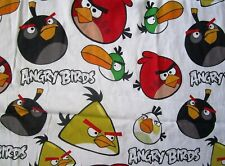ANGRY BIRDS TWIN FLAT SHEET - COTTON BLEND - FRANCO