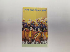 University of Pittsburgh 1988 Football NCAA College Pocket Schedule IC Light