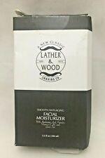 Face Moisturizer Men Lather & Wood's Luxurious Sophisticated Mens 3.5 oz E13 YY